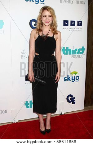 Taylor Spreitler at the 4th Annual Thirst Gala, Beverly Hilton Hotel, Beverly Hills, CA 06-25-13