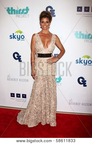 Charisma Carpenter at the 4th Annual Thirst Gala, Beverly Hilton Hotel, Beverly Hills, CA 06-25-13