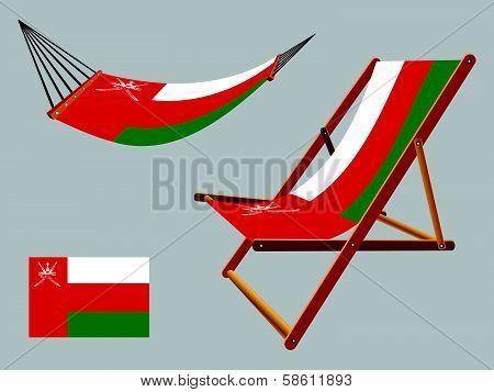 Oman Hammock And Deck Chair Set