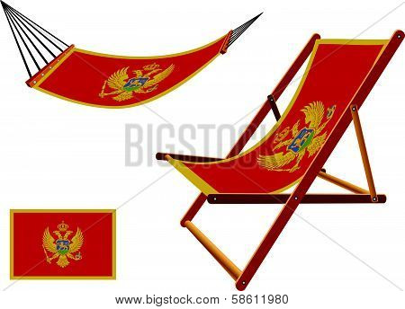 Montenegro Hammock And Deck Chair Set