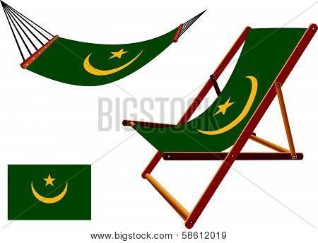 Mauritania Hammock And Deck Chair Set