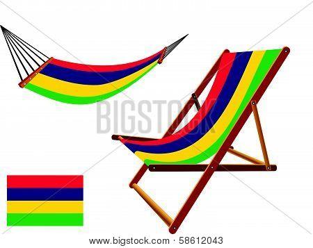 Mali Hammock And Deck Chair Set