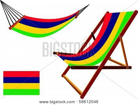 Mauritius Hammock And Deck Chair Set