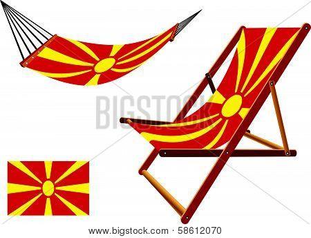 Macedonia Hammock And Deck Chair Set