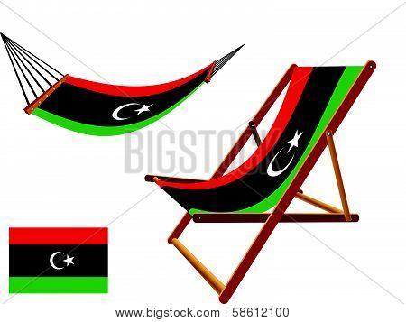Liberia Hammock And Deck Chair Set