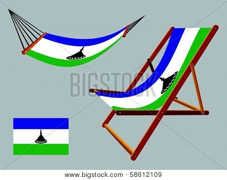 Lesotho Hammock And Deck Chair Set
