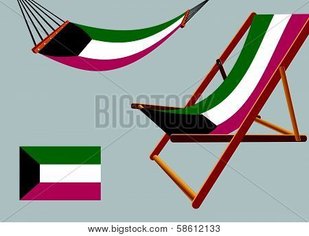 Kyrgyzstan Hammock And Deck Chair Set
