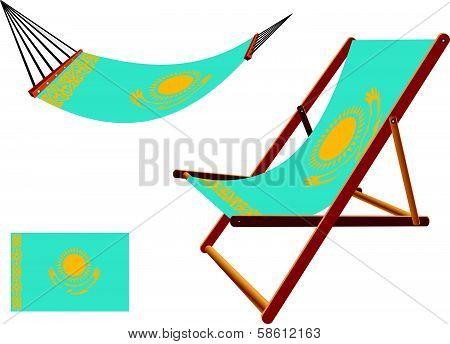 Kenya Hammock And Deck Chair Set