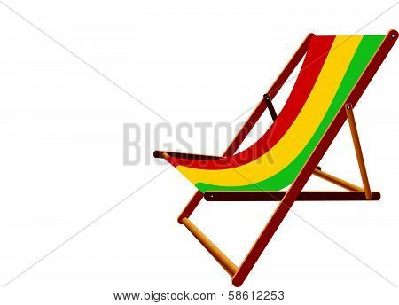 Guinea Bissau Hammock And Deck Chair Set