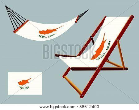 Cyprus Hammock And Deck Chair Set