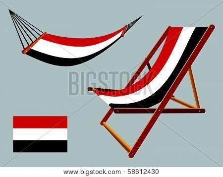 Yemen Hammock And Deck Chair