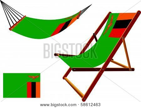 Zambia Hammock And Deck Chair