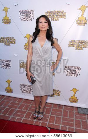 Ming-Na Wen at the 39th Annual Saturn Awards, The Castaway, Burbank, CA 06-26-13