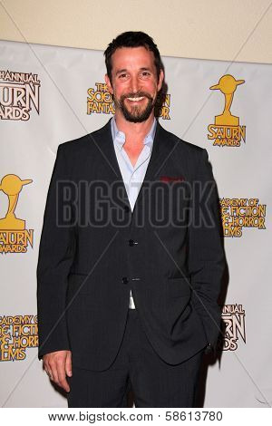 Noah Wyle at the 39th Annual Saturn Awards Press Room, The Castaway, Burbank, CA 06-26-13