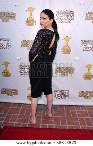 Jodi Lyn O'Keefe at the 39th Annual Saturn Awards, The Castaway, Burbank, CA 06-26-13