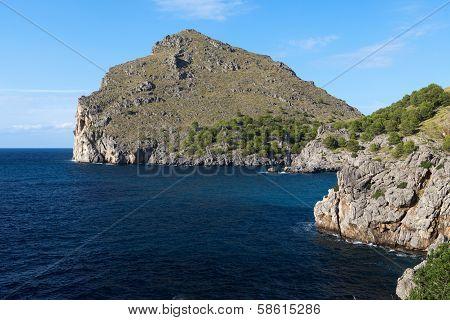 Torrent de Pareis - Sa Calobra bay on Majorca Spain