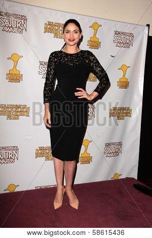 Jodi Lyn O'Keefe at the 39th Annual Saturn Awards Press Room, The Castaway, Burbank, CA 06-26-13