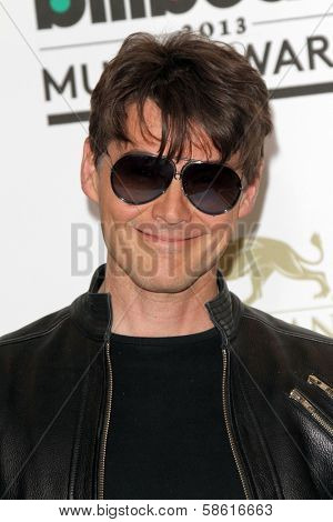 Morten Harket at the 2013 Billboard Music Awards Press Room, MGM Grand, Las Vegas, NV 05-19-13