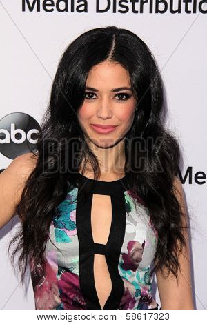 Edy Ganem at the Disney Media Networks International Upfronts, Walt Disney Studios, Burbank, CA 05-19-13
