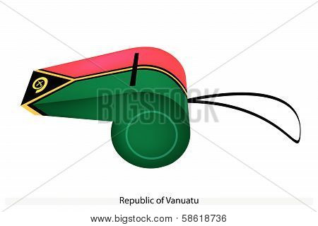 A Whistle Of The Republic Of Vanuatu