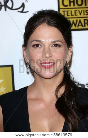 Sutton Foster at the 3rd Annual Critics' Choice Television Awards, Beverly Hilton Hotel, Beverly Hills, CA 06-10-13