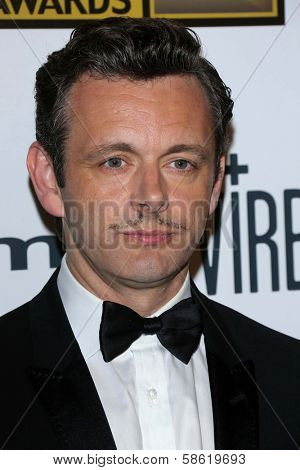 Michael Sheen at the 3rd Annual Critics' Choice Television Awards, Beverly Hilton Hotel, Beverly Hills, CA 06-10-13