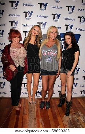 Kitten Natividad, Jessica Kinni, Mary Carey and Erika Jordan at