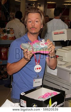 David Spade at K-Mart for the Upcoming Release Of