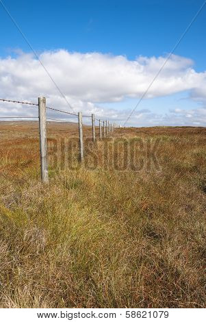 Wooden Fence Peak District