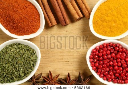 Spices Frame