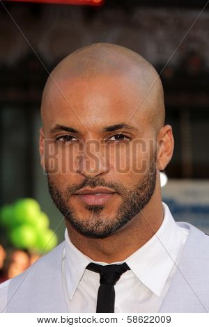 Ricky Whittle at the