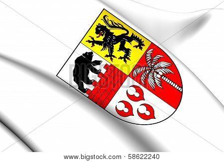 Anhalt-bitterfeld Coat Of Arms, Germany.
