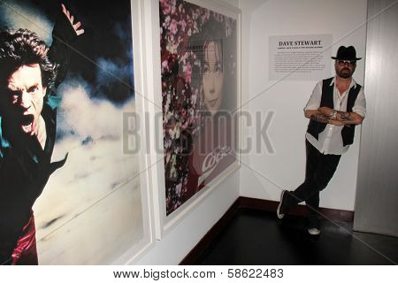 Dave Stewart at Dave Stewart: Jumpin' Jack Flash & The Suicide Blonde Photography Exhibit, Morrison Hotel Gallery, West Hollywood, CA 07-12-13