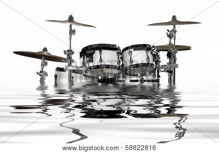 Sinking Drum Kit