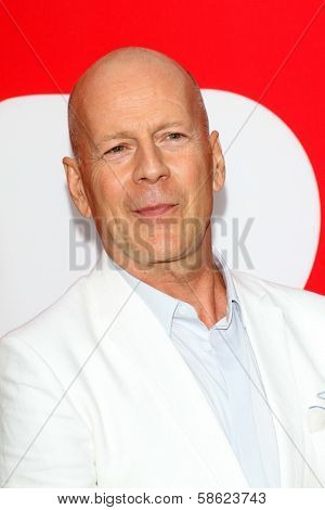 Bruce Willis at the premiere of Summit Entertainment's