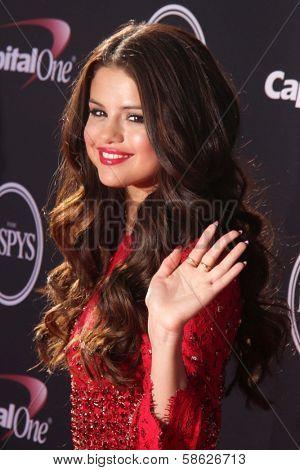 Selena Gomez at The 2013 ESPY Awards, Nokia Theatre L.A. Live, Los Angeles, CA 07-17-13