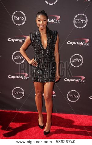 Gabrielle Union at The 2013 ESPY Awards, Nokia Theatre L.A. Live, Los Angeles, CA 07-17-13