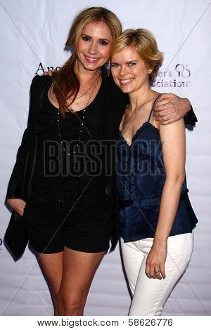 Ashley Jones and Kara Holden at the