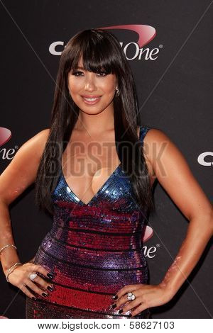 Cheryl Burke at The 2013 ESPY Awards, Nokia Theatre L.A. Live, Los Angeles, CA 07-17-13
