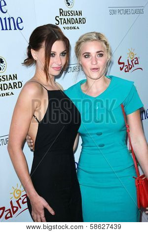Aly Michalka and AJ Michalka at the