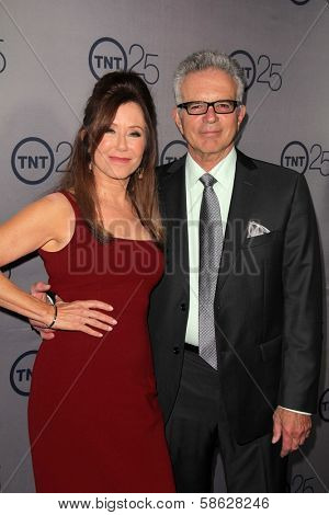Mary McDonnell, Tony Denison at the TNT 25th Anniversary Party, Beverly Hilton Hotel, Beverly Hills, CA 07-24-13