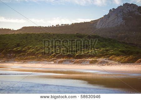 Dream beach of Bolonia, Tarifa, andalusia Spain