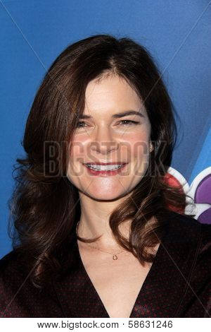 Betsy Brandt at the NBC Press Tour, Beverly Hilton, Beverly Hills, CA 07-27-13