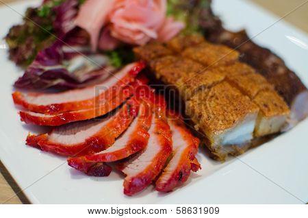 Sliced Braised And Grilled Pork Belly