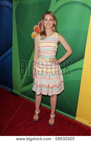Ella Rae Peck at the NBC Press Tour, Beverly Hilton, Beverly Hills, CA 07-27-13