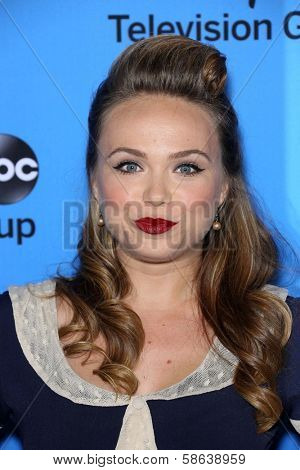 Amanda Fuller at the Disney/ABC Summer 2013 TCA Press Tour, Beverly Hilton, Beverly Hills, CA 08-04-13