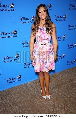 Chloe Bennet at the Disney/ABC Summer 2013 TCA Press Tour, Beverly Hilton, Beverly Hills, CA 08-04-13