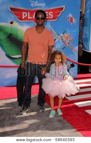 Harold Perrineau at the World Premiere Of Disney's Planes, El Capitan, Hollywood, CA 08-05-13