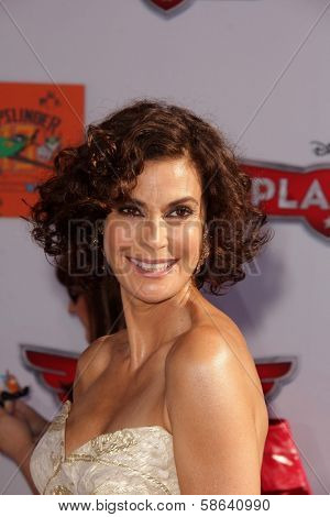 Teri Hatcher at the World Premiere Of Disney's Planes, El Capitan, Hollywood, CA 08-05-13