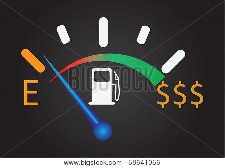 Gas Gauge Dollar